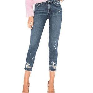 Agolde Sophie Hi Rise Skinny Crop Jeans Size 25